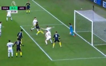 Ka gol në ndeshjen Swansea – Arsenal (Video)