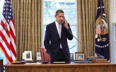 Me këtë fotografi prekëse Obama largohet nga Shtëpia e Bardhë…