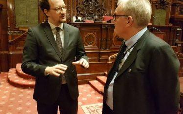 Ambasadori Nikaj takon senatorin Van Den Driessche, flasin për rritjen…