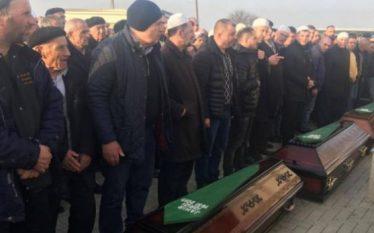 Varrosen prindërit dhe i biri pas aksidentit tragjik të Kaçanikut