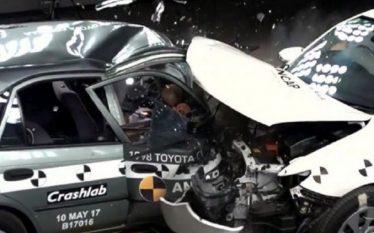 VIDEO/ Më të forta janë makinat e vjetra apo të…