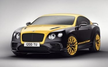 Bentley me version special të Continental GT (Foto)