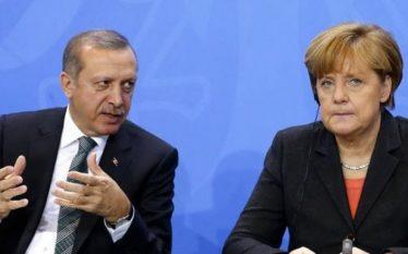 Merkel dëshiron takim kokë më kokë me Erdoganin