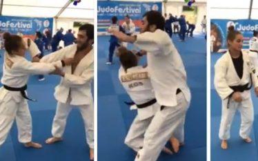 """Kelmendi """"sfidon"""" kampionin olimpik nga Rusia (Video)"""