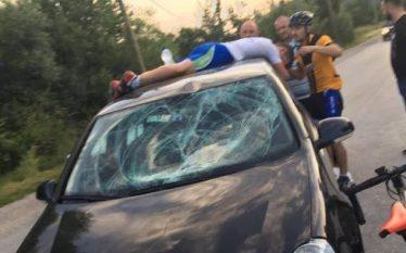 Aksidentohet rëndë çiklisti, merr 41 qepje (Foto)
