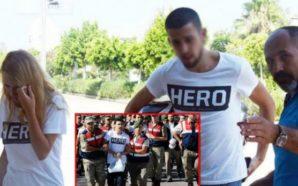Policia turke arreston çiftin për shkak të bluzës (Foto)