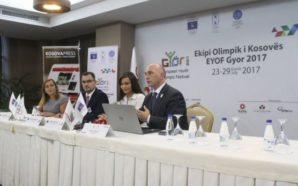 KOK-u prezanton sportistët që shkojnë në Festivalin Olimpik Evropian (Foto)