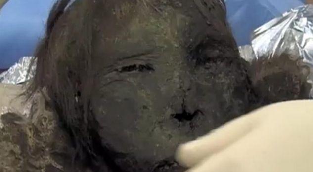 Image result for Gjendet një mumie me fytyrë të paprekur (Foto)