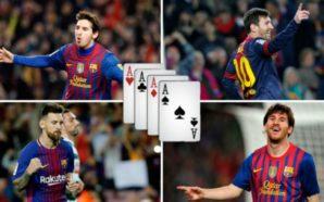 Katër herë nga katër gola, Messi 'mbret' i 'mbretërve' në…
