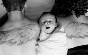 Vizatojnë krahët e një engjëlli në trupin e tyre, arsyeja…