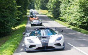 Takimi i makinave Koenigsegg që së bashku kanë 19 mijë…
