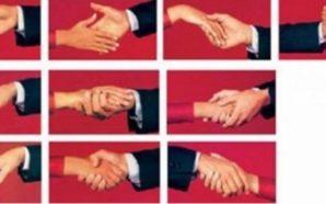 Mënyra se si e shtrëngoni dorën, tregon çfarë karakteri ke