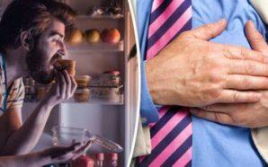 Nëse jeni duke ngrënë gjatë kësaj kohe të ditë, Rrezikoheni…
