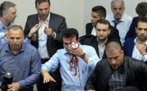 """""""Kërkohen dymbëdhjetë të dyshuarit e tjerë për dhunën në Kuvendin…"""