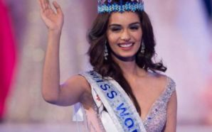 Manushi Chhillar kurorëzohet Miss Bota 2017