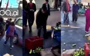 Policia bashkiake zihet me tregtarët ambulantë në Tiranë