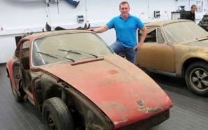 Blenë dy Porsche-t e shkatërruara, pas tre vitesh restaurime nga…