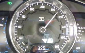 Shikoni me sa lehtësi Bugatti Chiron arrin shpejtësinë 325 km/h…