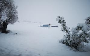 Bie borë në Francë