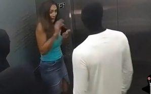 Manekinët ngjallen papritmas, frikësojnë të pranishmit në ashensor (Video)